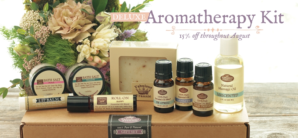 August-Aromatherapy Kit