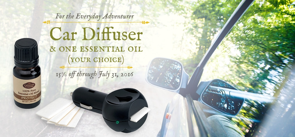 July: Car Diffuser 2016