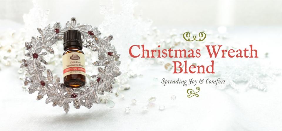 December Slider: Christmas Wreath Blend