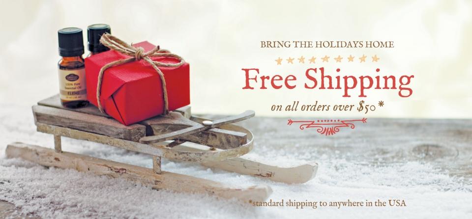 December Slider: Free Shipping