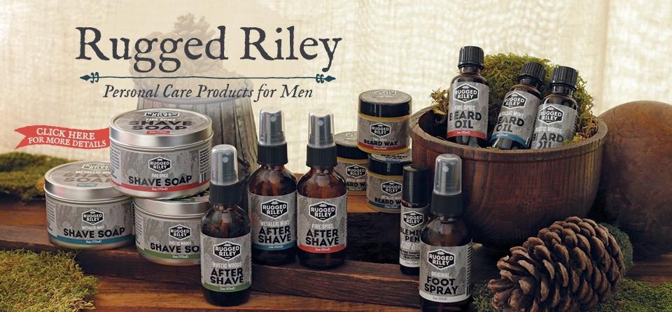 December Slider: Rugged Riley Product Line