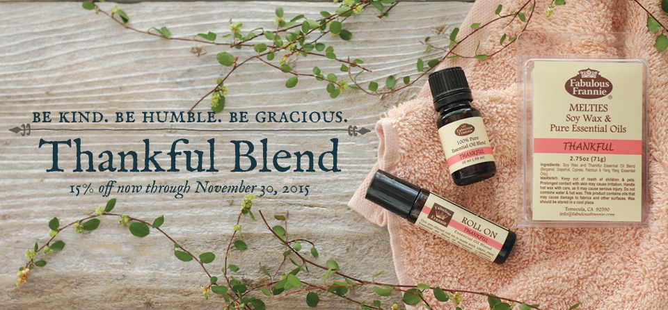 November: Special - Thankful Blend