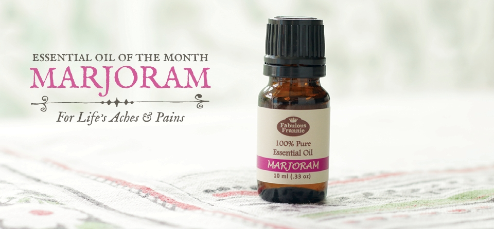 August-EO of the Month-Marjoram