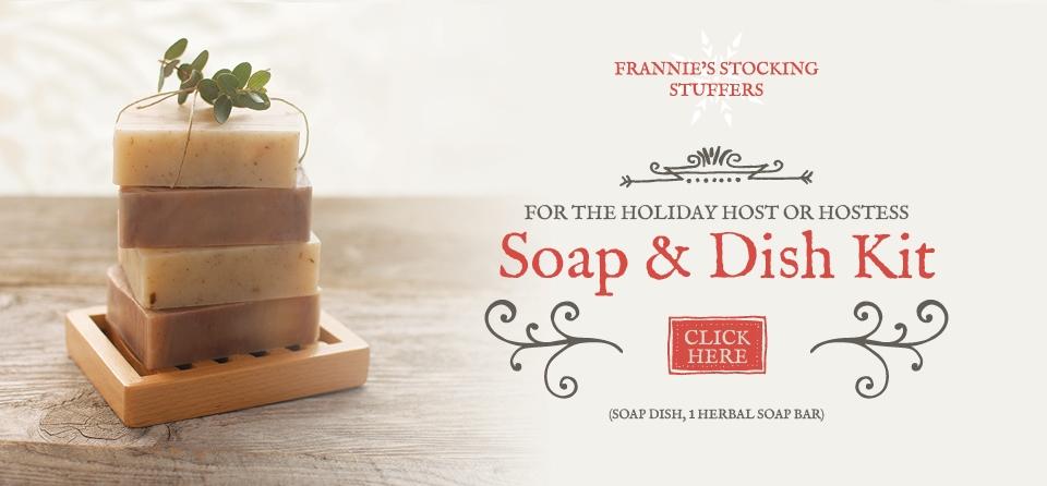 Stocking Stuffer - Soap Dish