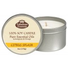 Citrus Splash All Natural Soy Candle