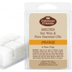 Orange 100% Pure & Natural Soy Meltie 2.75 oz