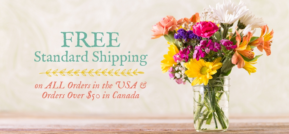 May Slider Shipping General with Flowers