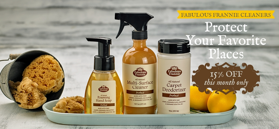 September Slider Special Cleaning Products