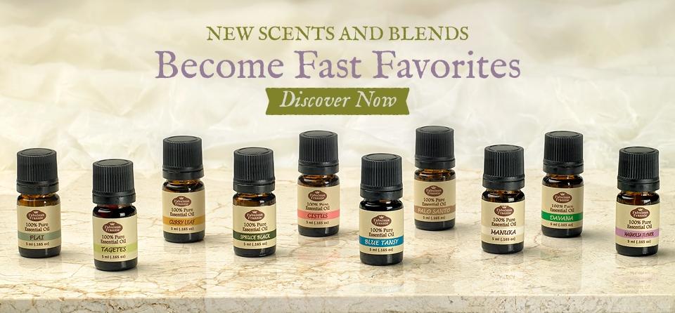 October Slider New Essential Oils