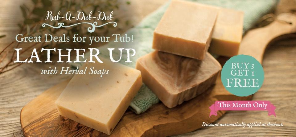February Slider Special Soaps