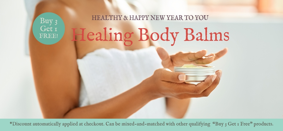 January 2020: Special Body Balm Banner