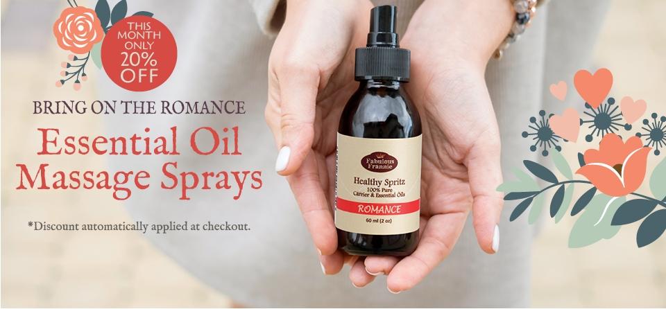 February 2020: Special Romance Massage Spray