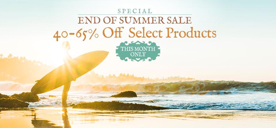 September: Special Summer Sale