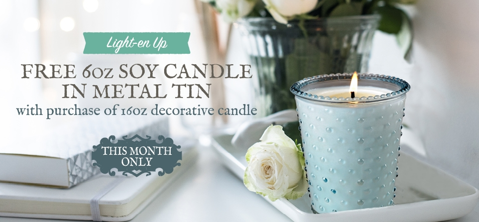 October 2020 Special Slider: Candles
