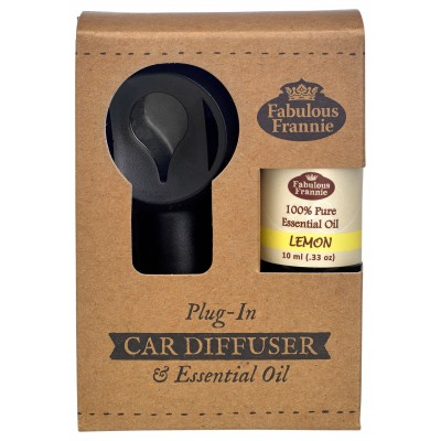 Car Scenter Electric Diffuser with Oil - Lemon