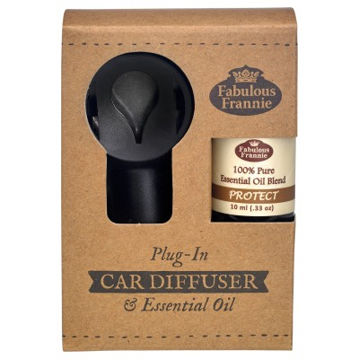 Car Scenter Electric Diffuser with Oil - Protect