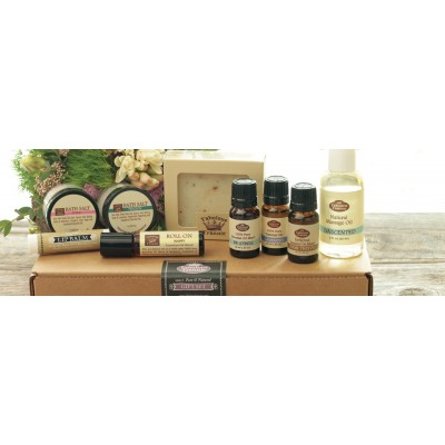Deluxe Aromatherapy Essentials Kit