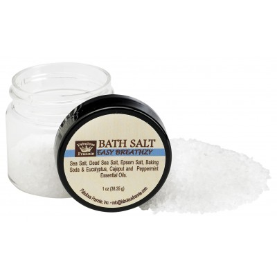 Easy Breathzy (Cold & Flu) Mineral Bath Salt 1oz