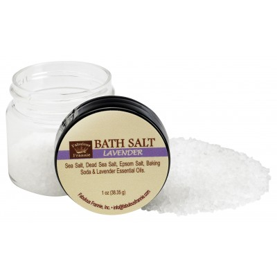 Lavender Mineral Bath Salt 1oz