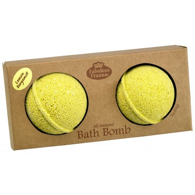 Lemon Bergamot Bath Bomb 2.75oz - 2pk