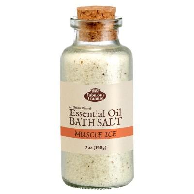 Muscle Ice (Aches & Pains) Mineral Bath Salt 7oz