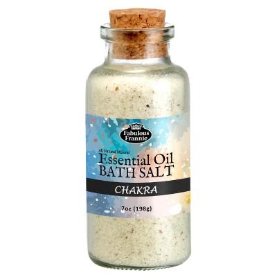 Chakra Mineral Bath Salt 7oz
