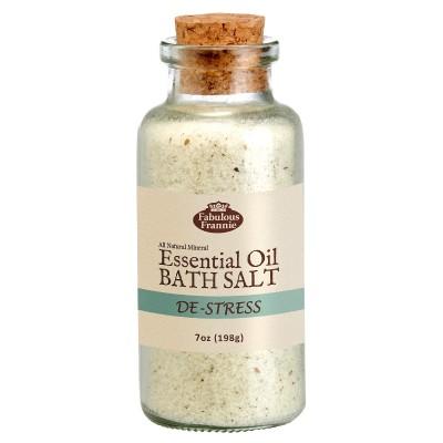 De-Stress Mineral Bath Salt 7oz