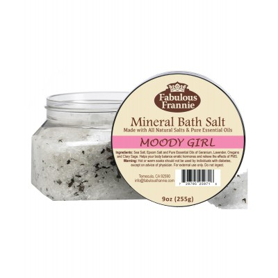 Moody Girl (PMS) Mineral Bath Salt 9oz