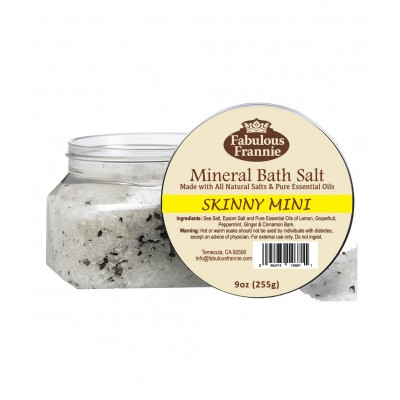 Skinny Mini Mineral Bath Salt 9oz