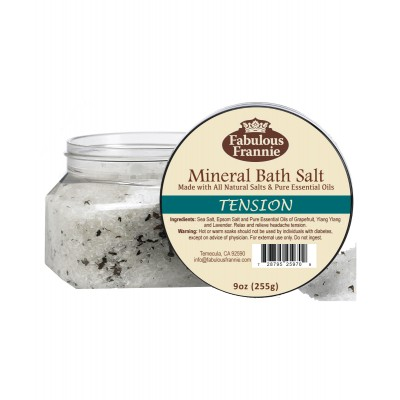 Tension Mineral Bath Salt 9oz