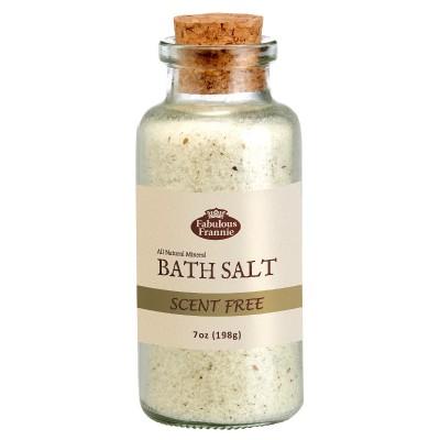 Unscented Mineral Bath Salt 7oz
