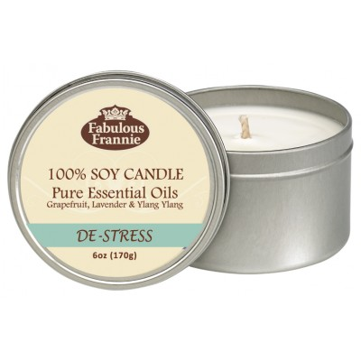 De-Stress All Natural Soy Candle