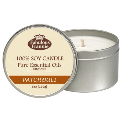 Patchouli All Natural Soy Candle