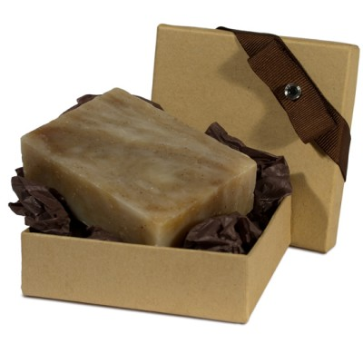 Orange Vanilla Natural Herbal Bar Soap 4 oz - Gift Set
