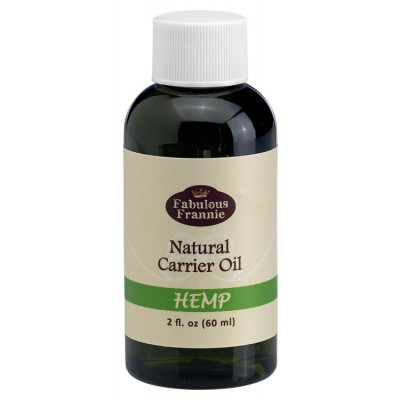 2oz Sample Size Hemp Pure & Natural Carrier Oil