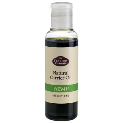 Hemp Pure & Natural Carrier Oil 4 oz