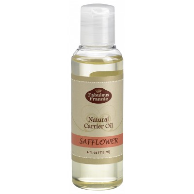 Safflower Pure & Natural Carrier Oil 4 oz