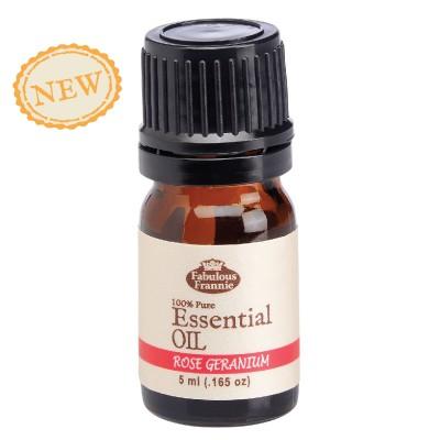 Rose Geranium Pure Essential Oil 5ml
