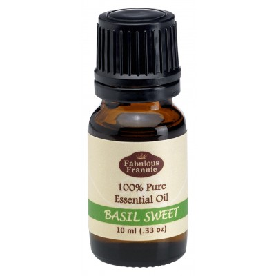 Basil Sweet Pure Essential Oil