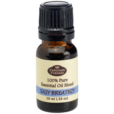 Easy Breathzy (Formally Cold & Flu) Pure Essential Oil Blend