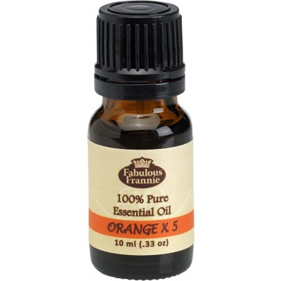 Orange x 5 (5 Fold) Pure Essential Oil