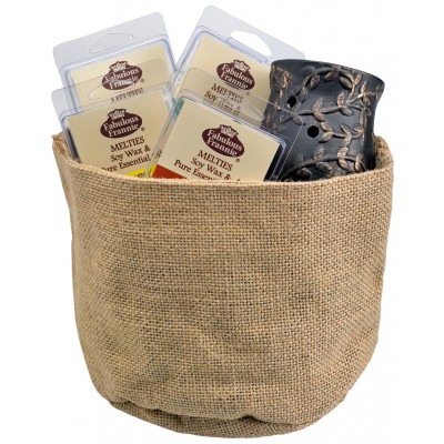 Wax Warmer and Melties Gift Basket