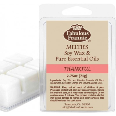 Thankful 100% Pure & Natural Soy Meltie 2.75 oz