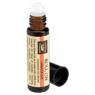 Muscle Ice (Formally Aches & Pains) Essential Oil Blend Roll-On 10 ml