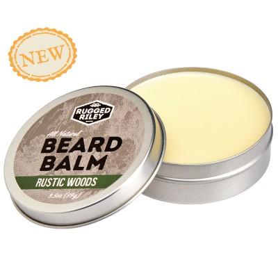 Beard Balm 3.5oz - Rustic Woods