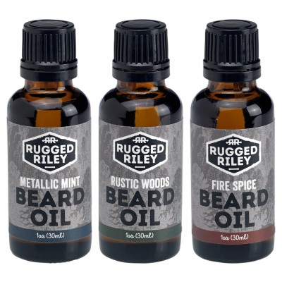 Beard Oil 1oz - Rugged Riley Men's