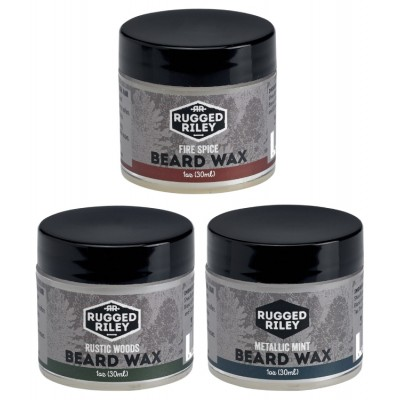 Beard Wax 1oz - Rugged Riley Men's