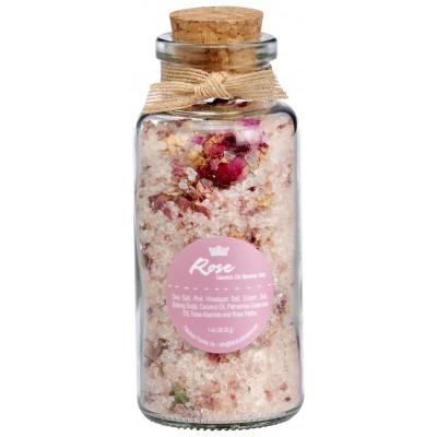 Rose Mineral Bath Salt 7oz