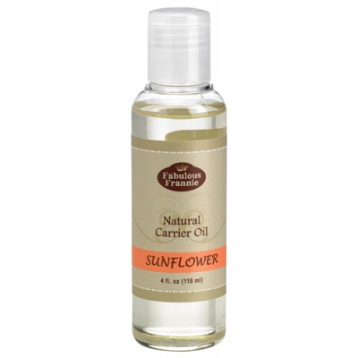 Sunflower Pure & Natural Carrier Oil 4 oz