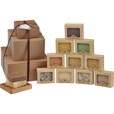 All Natural Soap for the Year - Gift Tower